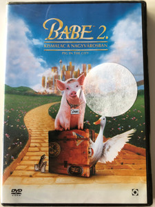 Babe 2 - Pig in the City DVD 1998 Babe 2 Kismalac a nagyvárosban / Directed by George Miller / Starring: Magda Szubanski, James Cromwell, Mickey Rooney (5999544254053)