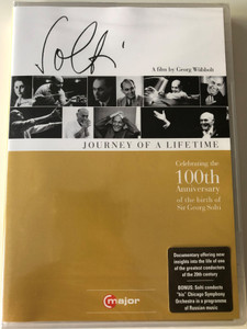 Great Conductors 2. DVD 2012 Sir Georg Solti - Journey of a lifetime / Directed by Georg Wübbolt / C Major Entertainment (814337011178)