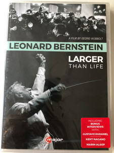 Great Conductors 3. DVD 2015 Leonard Berstein - Larger than life / Directed by Georg Wübbolt / C major entertainment (814337013592)