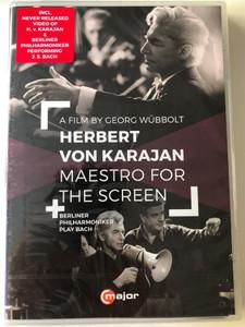 Great Conductors 4. DVD 2015 Herbert von Karajan - Maestro for the Screen / Directed by Georg Wübbolt, Francois Reichenbach / Bonus Concert Johann Sebastian Bach - Brandenburg Concerto no. 3 / C major entertainment (814337013769)