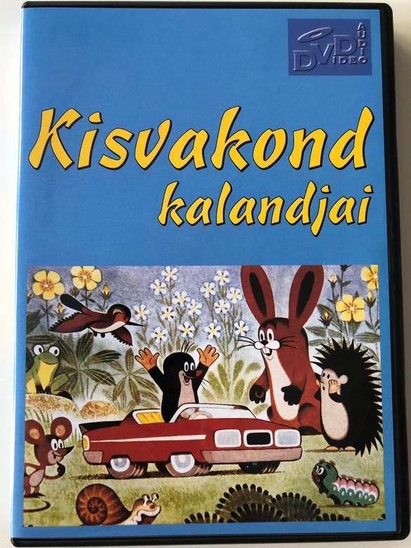 Kisvakond kalandjai DVD Krtek Little Mole's Adventures - 10 episodes / 1957-1975 / Created by Zdenek Miler / Czech Animated cartoon classic (5998866300042)