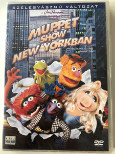 The Muppets take Manhattan DVD 1984 Muppet Show New Yorkban / Directed by Frank Oz / Starring: Frank Oz, Jim Henson, Dave Goelz (5999010445886)