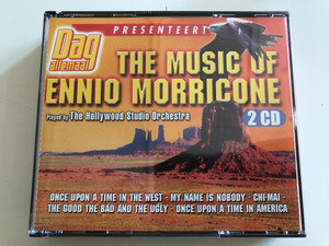 Dag Allemaal - The Music Of Ennio Morricone / Played by The Hollywood Studio Orchestra / Once Upon A Time In The West, My Name Is Nobody, Chi-Mai, The Good, The Bad And The Ugly, Once Upon A Time In America / Paradiso 2x Audio CD 2000 / PA 2579/6