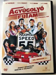 Cannonball Run - Ágyúgolyó futam DVD 1981 / Directed by Hal Needham / Burt Reynolds, Roger Moore, Farrah Fawcett, Dom DeLuise, Dean Martin (5999544251137)