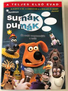 """Creature Comforts Complete Season 1 DVD 2003 Sumák Dumák teljes első évad / Directed by Richard """"Golly"""" Goleszowski / Idea by Nick Park / 13 episodes (5999546330779)"""