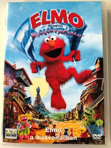 The Adventures of Elmo in Grouchland DVD 1999 Elmo kalandjai Mogorvszágban / Directed by Gary Halvorson / Starring: Kevin Clash, Mandy Patinkin, Vanessa Williams (5999010444308)