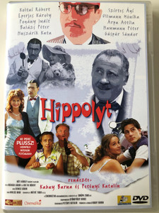 Hippolyt DVD 1999 / Directed by Kabay Barna, Petényi Katalin / Starring: Károly Eperjes, Róbert Koltai, Judit Pogány / Remake of the 1931 B&W Hungarian Classic (5999545561006)