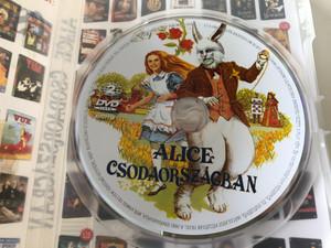Alice's Adventures in Wonderland DVD 1972 Alice Csodaországban / Directed by William Sterling / Starring: Fiona Fullerton, Dudley Moore, Peter Sellers, Michael Crawford (5999881767780)