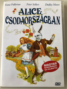 Alice's Adventures in Wonderland DVD 1972 Alice Csodaországban / Directed by William Sterling / Starring: Fiona Fullerton, Dudley Moore, Peter Sellers, Michael Crawford (5999881767780)