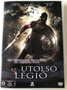 La Derniere Legion DVD 2007 The Last Legion (Az utolsó légió) / Directed by Doug Lefler / Starring: Colin Firth, Ben Kingsley, Aishwarya Rai, Peter Mullan (5999544156128)