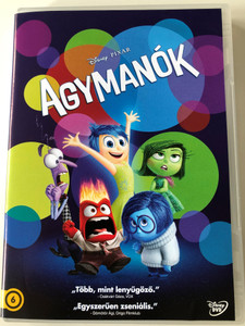 Inside out DVD 2015 Agymanók / Directed by Peter Docter / Starring: Amy Poehler, Phyllis Smith, Richard Kind, Lewis Black (5996514021578)