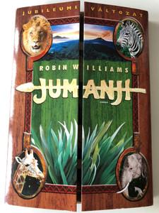 Jumanji DVD 1995 Jubileumi változat / Hungarian Anniversary edition / Directed by Joe Johnston / Starring: Robin Williams, Kirsten Dunst, David Alan Grier, Bonnie Hunt (5999010459937)