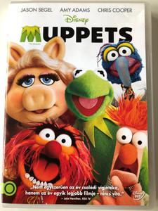 The Muppets DVD 2011 Muppets / Directed by James Bobin / Starring: Jason Segel, Amy Adams, Chris Cooper, Rashida Jones (5996255737189)