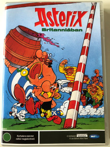 Astérix chez les Bretons DVD 1986 Astérix Britanniában / Directed by Pino Van Lamsweerde / Voices - French: Roger Carel (Asterix), Pierre Tornade (Obelix) English - Jack Beaber (Asterix), Billy Kearns (Obelix) (5998133188137)