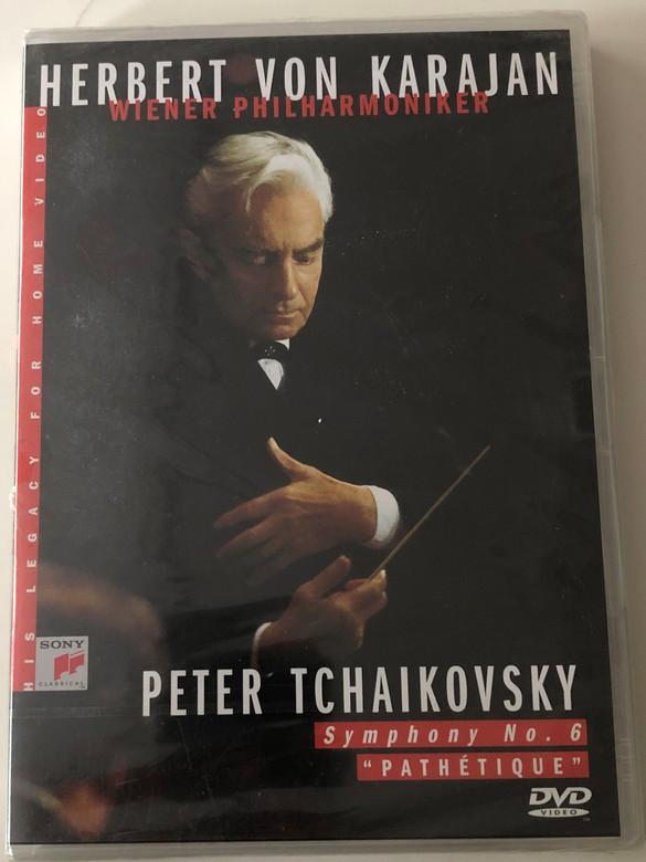 Peter Tchaikovsky - Symphony No. 6 Pathétique DVD 2001 Conducted by Herbert von Karajan - Wiener Philharmoniker / Sony Music SVD48311 (5099704831190)
