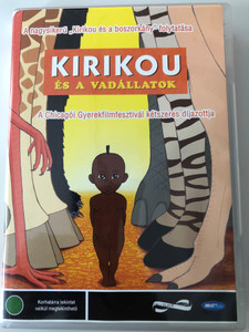Kirikou et les betes sauvages DVD Kirikou és a vadállatok / Directed by Michel Ocelot, Bénédicte Galup / Starring: Pierre-Ndoffé Sarr, Awa Sene Sarr / Kirikou and the Wild Beasts (5998133160232)