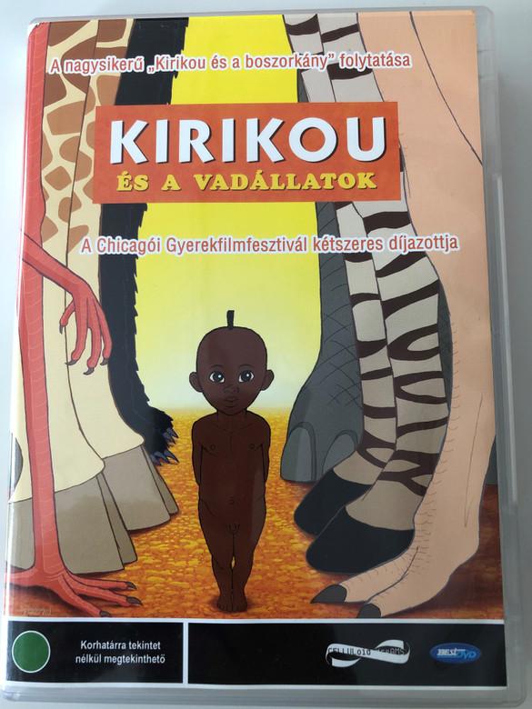 Kirikou et les betes sauvages DVD Kirikou és a vadállatok / Directed by Michel Ocelot, Bénédicte Galup / Starring: Pierre-Ndoffé Sarr, Awa Sene Sarr / Kirikou and the Wild Beasts (5998133160232)