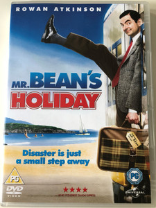 Mr. Bean's Holiday DVD 2007 / Directed by Steve Bendelack / Starring: Rowan Atkinson / Disaster is just a small step away (5050582495911)
