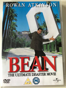 Bean - the ultimate Disaster movie DVD 1997 / Directed by Mel Smith / Starring: Rowan Atkinson, Peter Macnicol, Pamela Reed (3259190359697)