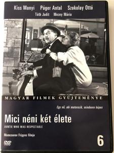 Mici néni két élete DVD 1962 Auntie Who was respectable / Directed by Mamcserov Frigyes / Starring: Kiss Manyi, Páger Antal, Szokolay Ottó, Tóth Judit, Mezey Mária / Magyar filmek gyűjteménye 6 (5999546331073)