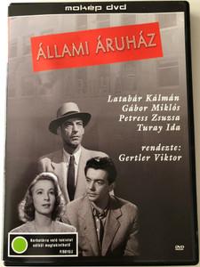 Állami Áruház DVD 1953 The State Department Store / Directed by Gertler Viktor / Starring: Latabár Kálmán, Gábor Miklós, Petress Zsuzsa, Turay Ida / Hungarian BW Classic (5996357320074)