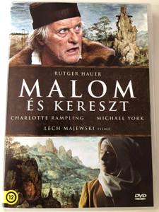 The Mill & The Cross DVD 2011 Malom és Kereszt / Directed by Lech Majewski / Starring: Rutger Hauer, Charlotte Rampling, Michael York (5999546337679)