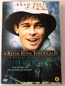 A River Runs Through it DVD Folyó szeli ketté 1992 / Directed by Robert Redford / Starring: Craig Sheffer, Brad Pitt, Tom Skerritt (8715664065563)