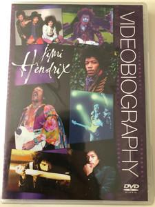 Jimi Hendrix Videobiography DVD / Comprehensive case study of the music of Jimi Hendrix / Highlights from Hey Joe, Wild Thing, Purple Haze, Foxy Lady (823880023347)