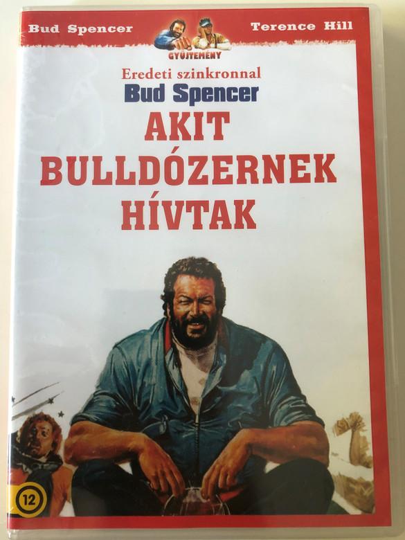 Lo chiamavano Bulldozer DVD 1978 Akit Buldózernek hívtak / Directed by Michele Lupo / Starring: Bud Spencer, Raimund Harmstorf / AKA They Called Him Bulldozer (5999545581202.)