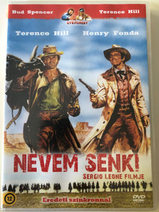 Il mio nome è Nessuno DVD 1973 Nevem Senki / My Name Is Nobody / Directed by Tonino Valerii, Sergio Leone / Starring: Terence Hill, Henry Fonda, Jean Martin (5999545581110.)