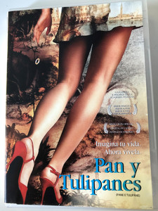 Pane E tulipane DVD 2000 Pan y Tulipanes (Bread and Tulips) / Directed by Silvio Soldini / Starring: Licia Maglietta, Bruno Ganz, Giuseppe Battiston (7502000966124)