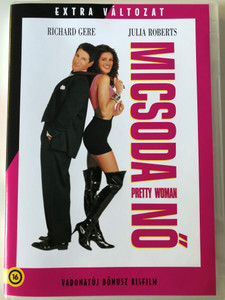 Pretty Woman - Micsoda nő DVD 1990 Bónusz kisfilm / Directed by Garry Marshall / Starring. Richard Gere, Julia Roberts / Hungarian Special Edition (5996514012538)