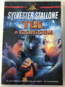 Over the Top DVD 1987 Túl a csúcson / Directed by Menahem Golan / Starring: Sylvester Stallone, Robert Loggia, Susan Blakely, David Mendenhall (5996255733570)