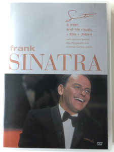 Frank Sinatra - A man and his music DVD With special guests Ella Fitzgerald and Antonio Carlos Jobim / Directed by Michael Pfleghar / Music Arranged and Conducted by Nelson Riddle (685738706626)