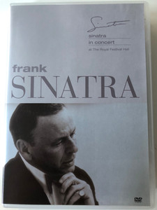 Frank Sinatra in Concert DVD 1971 At the Royal Festival Hall / Directed by Bill Miller / Pennies from heaven, Something, One for my Baby, My kind of Town, My way (685738706921)