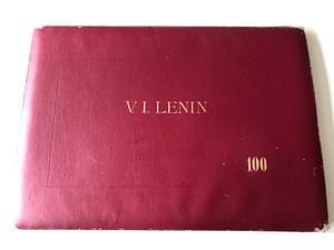 V. I. Lenin Album - 100 / 100 black & white illustrations and drawings of Lenin published for the 100th anniversary of his birth / Váczi András, Csanády András, Varga Nándor, Stettner Béla, Hincz Gyula, Gaál Domonkos (Lenin100Album)