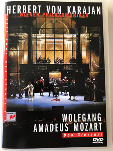 Don Giovanni - W.A.Mozart DVD 1991 Conducted by Herbert von Karajan / Wiener Philharmoniker / Directed by Michael Hampe / Recorded July 18-31 1987 in Salzburg, Austria / Sony Video (5099704638393)