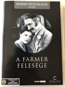 The Farmer's Wife DVD 1929 A Farmer felesége / Directed by Alfred Hitchcock / Starring: Jameson Thomas, Lillian Hall-Davis, Gordon Harker (5999554701011)