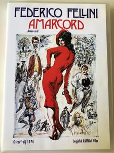 Amarcord DVD 1973 / Drected by Federico Fellini / Starring: Bruno Zanin, Magali Noël, Pupella Maggio (5999048904454)