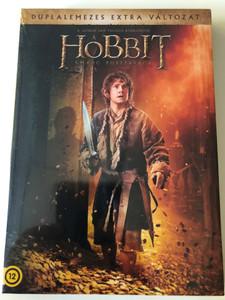 The Hobbit - The Desolation of Smaug 2x DVD 2013 Hobbit - A Smaug pusztasága / Directed by Peter Jackson / Starring: Ian McKellen, Martin Freeman, Richard Armitage, Benedict Cumberbatch / Duplalemezes extra változat (5996514017625)