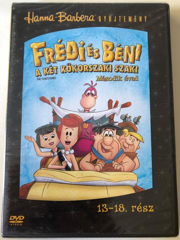 The Flintstones Season 2 Disc 3 DVD Frédi és Béni Második évad 3. Lemez / Episodes 13-18 rész / Hanna-Barbera (5999010459333)