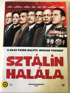 The Death of Stalin DVD 2017 Sztálin halála / Directed by Armando Iannucci / Starring: Steve Buscemi, Simon Russell Beale, Paddy Considine, Rupert Friend (5996471003365)