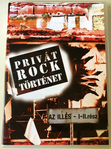 Privát Rock Történet DVD Private Rock Story - Az Illés I-II rész / Hungarian rock/beat band (1960–1973) / Film Múzeum (5999884992035)