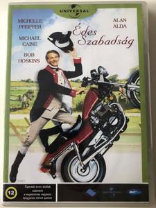 Sweet Liberty DVD 1986 Édes Szabadság / Directed by Alan Alda / Starring: Alan Alda, Michael Caine, Michelle Pfeiffer, Bob Hoskins (5998133166036)