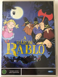 Die Drei Räuber DVD 2007 A három rabló (The Three robbers) / Directed by Hayo Freitag / Starring: Tomi Ungerer, Roger Jackson (5998133151537)