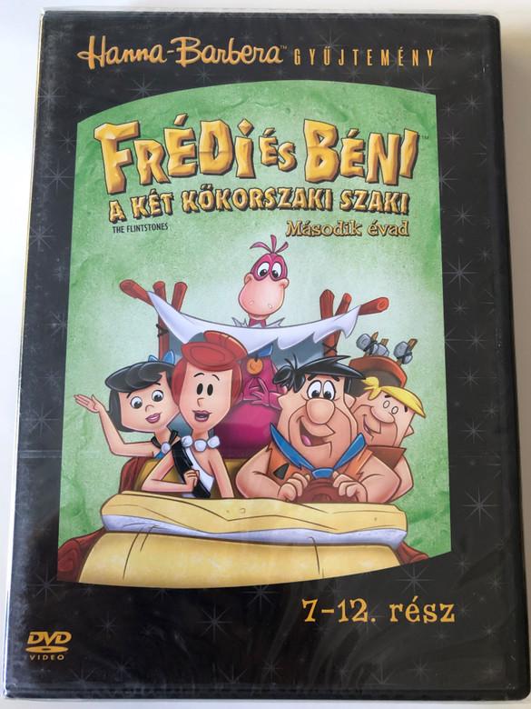 The Flintstones S2 Disc 2 DVD Frédi és Béni Második évad 2. Lemez / Episodes 7-12 rész / Hanna-Barbera (5999010459340)