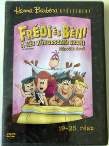 The Flintstones S2 Disc 4 DVD 1966 Frédi és Béni A két kőkorszaki szaki / Season 2 / Episodes 19-25 / Hanna-Barbera / Animated Classic (5999010459326)