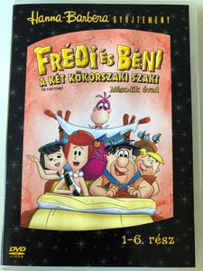 The Flintstones S2 Disc 1 DVD Frédi és Béni Második évad 1. Lemez / Episodes 1-6 rész / Hanna-Barbera (5999010459357)