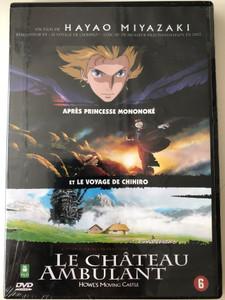 Howl's moving castle DVD 2004 Le Château Ambulant / Directed by Hayao Miyazaki / Starring: Chieko Baisho, Takuya Kimura, Akihiro Miwa / ハウルの動く城 (5410504989667)