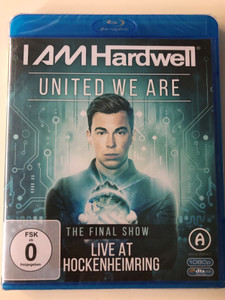 Hardwell - United We Are: Final Show Live At Hockenheimring Bluray Disc / DM 6259 (8718754406680)